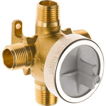Delta R11000 3/ 6 Setting Diverter Rough-In Valve