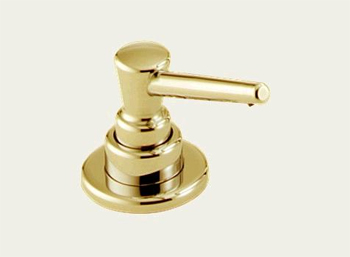 Delta RP1001PB Classic Kitchen Soap/Lotion Dispenser Brilliance Polished Brass
