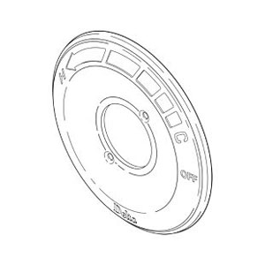 Delta RP19809SS Escutcheon for 13/ 14 Series - Stainless Steel