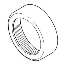 Delta RP22734 Unplated Bonnet Nut