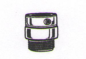 Delta RP25695 Vandal Resistant Vacuum Breaker Chrome
