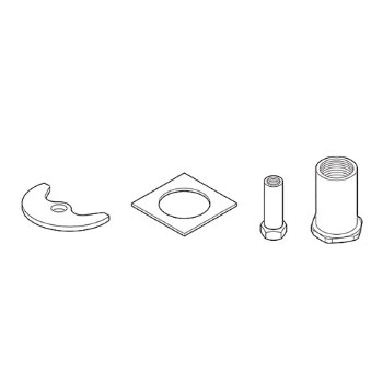 Delta RP32638 Thick Deck Mounting Kit