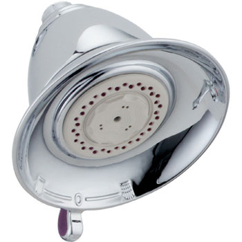 Delta RP34355 Traditional Dual Spray Touch-Clean Showerhead - Chrome