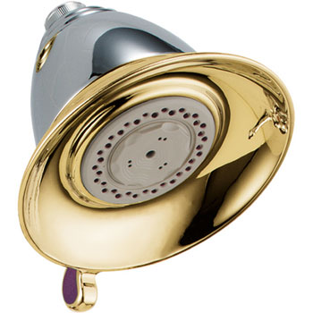 Delta RP34355CB Traditional Dual Spray Touch-Clean Showerhead - Chrome & Brilliance Polished Brass