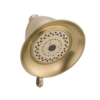 Delta RP34355CZ Traditional Dual Spray Touch Clean Showerhead - Champagne Bronze
