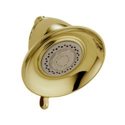 Delta RP34355PB Traditional Dual Spray Touch-Clean Showerhead - Brilliance Polished Brass