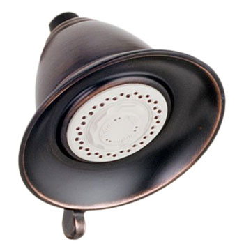 Delta RP34355RB Traditional Dual Spray Touch-Clean Showerhead - Venetian Bronze