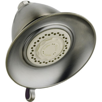 Delta RP34355SS Traditional Dual Spray Touch-Clean Showerhead - Brilliance Stainless