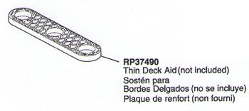 Delta RP37490 Thin Deck Aid