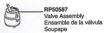 Delta RP50587 Replacement Valve Assembly