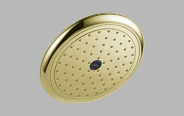 Delta RP52382PB Touch Clean Raincan Showerhead - Brilliance Polished Brass