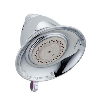 Delta RP64095 Victorian 3 Setting Water Efficient Showerhead - Chrome