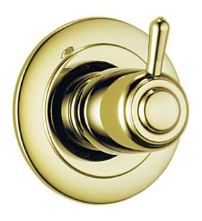 Delta T11800-PB Innovations 3 Setting Diverter Trim - Brilliance Polished Brass