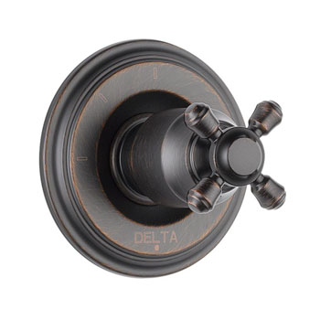 Delta T11897-RBLHP Cassidy 3 Function Diverter Trim, Less Handles - Venetian Bronze