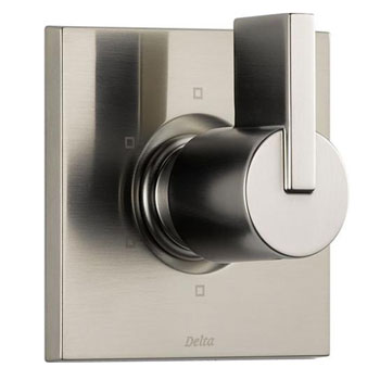 Delta T11953-SS Vero 6 Setting Diverter - Brilliance Stainless