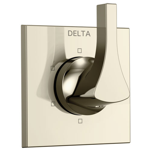 Delta T11974-PN Zura 6-Setting 3-Port Diverter Trim - Polished Nickel