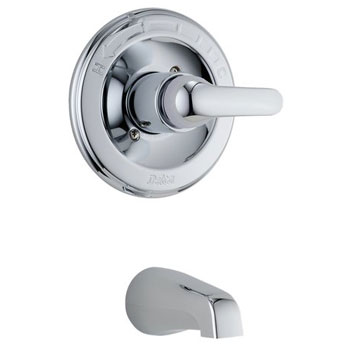 Delta T13120 Classic Single Handle Tub Trim Chrome