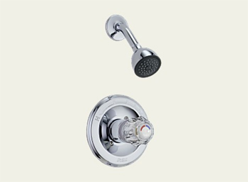 Delta T13222 Classic Single Handle Shower Trim Chrome