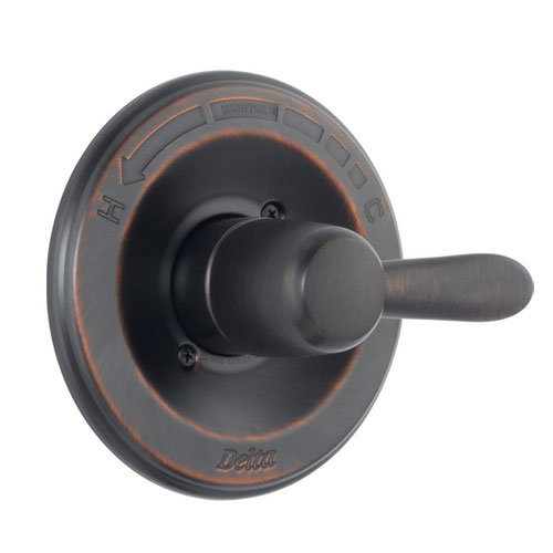Delta T14038-RB Lahara Monitor 14 Series Pressure Balanced Valve Only Trim - Venetian Bronze