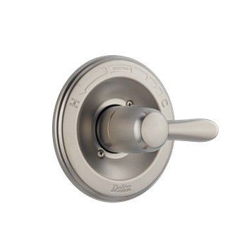 Delta T14038-SS Lahara Monitor 14 Series Pressure Balanced Valve Only Trim - Brilliance Stainless