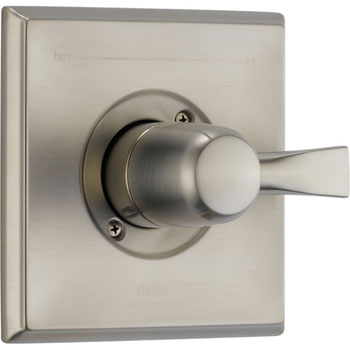 Delta T14051-SS Dryden Monitor Single Handle Pressure Balance Valve Trim - Brilliance Stainless