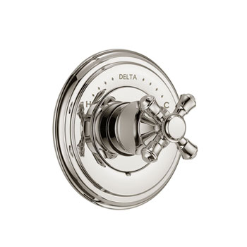 Delta T14097-PNLHP Cassidy MultiChoice 14 Series Valve Trim, Less Handles - Polished Nickel