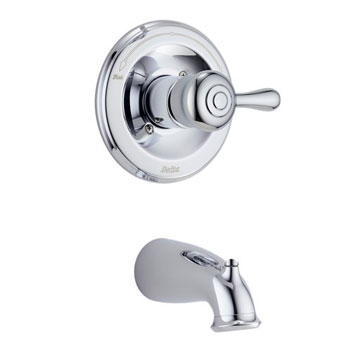 Delta T14169-LHP Orleans Bath Series Single Handle Tub Trim Chrome