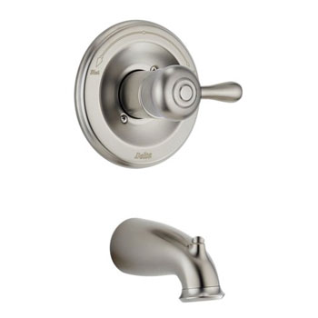 Delta T14169-SSLHP Orleans Bath Series Single Handle Tub Trim Brilliance Stainless