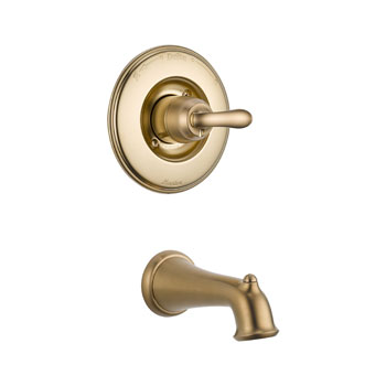 Delta T14194-CZ Linden Monitor 14 Series Tub Trim Only - Champagne Bronze