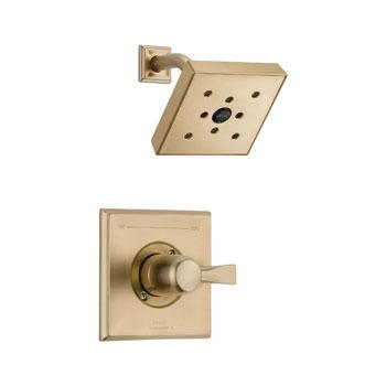 delta t14251 czh2o dryden monitor 14 series shower trim champagne bronze. Black Bedroom Furniture Sets. Home Design Ideas