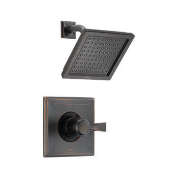 Delta T14251-RB Dryden Monitor Single Handle Pressure Balance Shower Trim - Venetian Bronze
