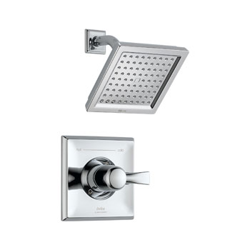 Delta T14251 Dryden Monitor Single Handle Pressure Balance Shower Trim - Chrome
