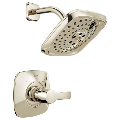 Delta T14252-PN Tesla Monitor 14 Series H2Okinetic Shower Trim - Polished Nickel