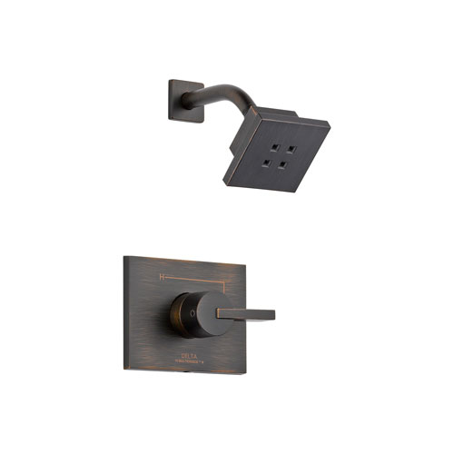 Delta T14253-RBH2O Vero 14 Series Shower Trim with H20Kinetic Technology - Venetian Bronze