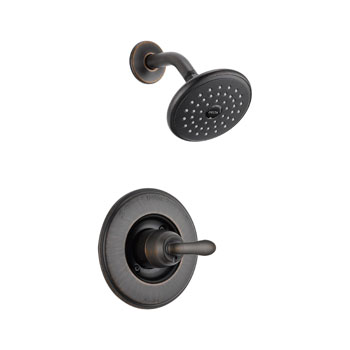 Delta T14294-RB Linden Monitor 14 Series Single Handle Shower Trim Only - Venetian Bronze
