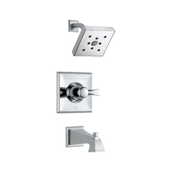 Delta T14451-H2O Dryden Monitor 14 Series Tub and Shower Trim - Chrome