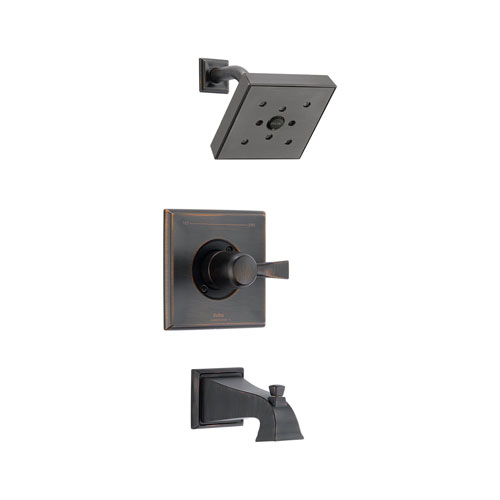 Delta T14451-RBH2O Dryden Monitor 14 Series Tub and Shower Trim - Venetian Bronze