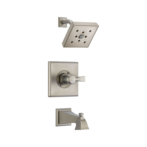 Delta T14451-SSH2O Dryden Monitor 14 Series Tub and Shower Trim - Stainless Steel