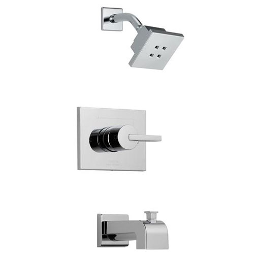 Delta T14453-H2O Vero 14 Series Tub/ Shower Trim - Chrome