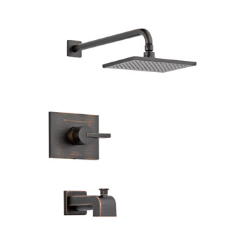 Delta T14453-RB Vero Monitor 14 Series Tub and Shower Trim - Venetian Bronze