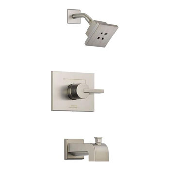 Delta T14453-SSH2O Vero 14 Series Tub/ Shower Trim - Brilliance Stainless