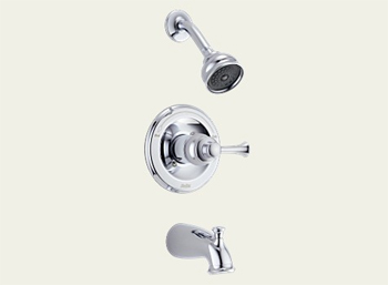 Delta T14469-LHP Orleans Bath Series Single Handle Tub/Shower Trim Chrome