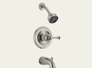 Delta T14469-SSLHP Orleans Bath Series Single Handle Tub/Shower Trim Brilliance Stainless