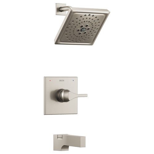 Delta T14474-SS Zura Monitor 14 Series H2Okinetic Tub and Shower Trim - Stainless
