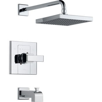 Delta T14486-SHQ Arzo Monitor Scald-Guard Single Handle Tub/Shower Trim - Chrome