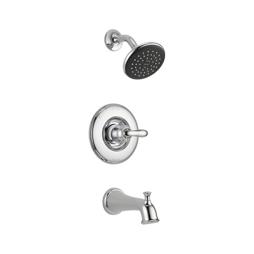 Delta T14494 Linden Monitor 14 Series Single Handle Tub and Shower Trim - Chrome