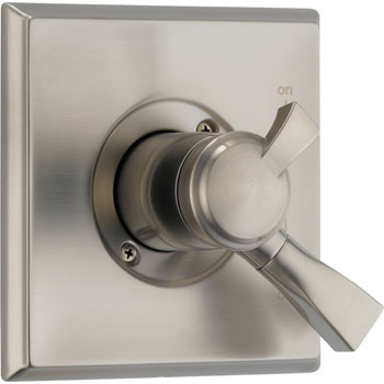 Delta T17051-SS Dryden Monitor Pressure Balance Tub/Shower Valve Trim with Volume Control - Brilliance Stainless