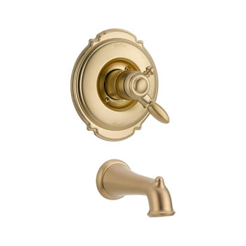 Delta T17155-CZ Victorian Monitor 17 Series Tub Trim Only - Champagne Bronze