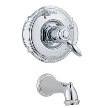 Delta T17155 Victorian Bath Collection Single Handle Tub Trim Chrome
