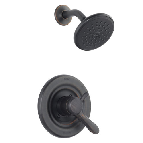 Delta T17238-RB Lahara Monitor T17 Series Shower Only Trim Kit - Venetian Bronze